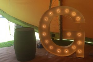 light up letters to hire Peterborough