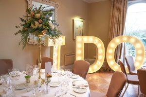 I DO light up letter hire cambridge