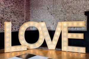 LOVE letters for hire suffolk