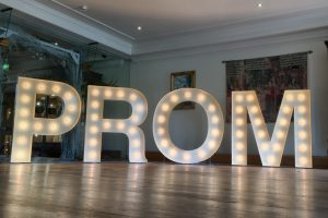 PROM light up letter hire Essex