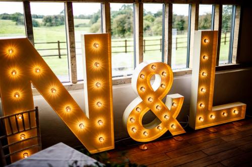 light up letter hire hertfordshire